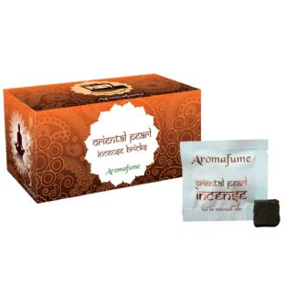 Aromafume Box of 18 Individually Wrapped Incense Bricks... ORIENTAL PEARL